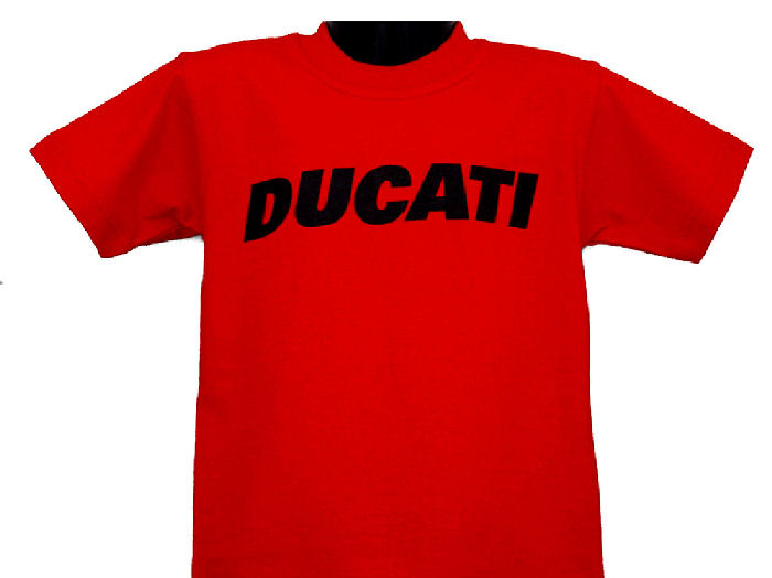 ducati t shirt infant block k6 red gowanloch ducati. Black Bedroom Furniture Sets. Home Design Ideas
