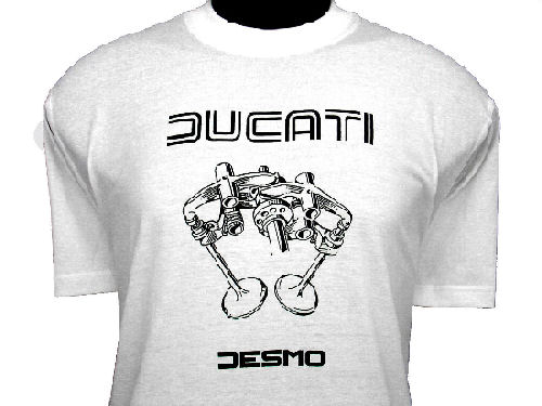 ducati t shirt mens valve picture t3 white gowanloch ducati. Black Bedroom Furniture Sets. Home Design Ideas