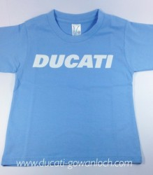 Ducati T-Shirt Infant Block K6 Sky Blue
