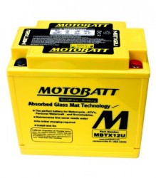 MBTX12U Motobatt Motorcycle Battery