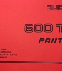 Ducati 600TL Pantah Spare Parts Manual