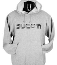 Ducati Hoodie – Lg Twinline – Grey