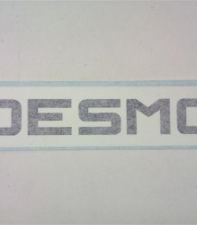 Ducati Desmo Decal Sqr E