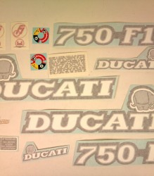 750 F1 Decal Kit 86′