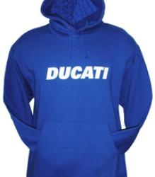 Ducati Hoodie – Block – Royal Blue
