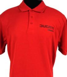 Ducati Polo Shirt – Red