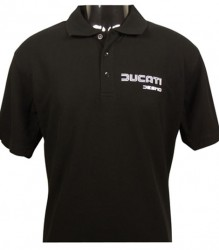 Ducati Polo Shirt – Black
