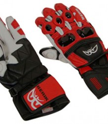 Berik Vision Leather Glove – Red/Blk/Wht