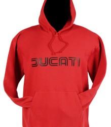 Ducati Hoodie – Lg Twinline – Red