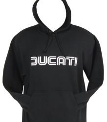 Ducati Hoodie – Lg Twinline – Black