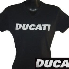 ducatitshirtwomansvneckw6shimmer
