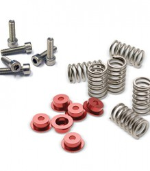 Clutch Springs & Cap Kits – Red