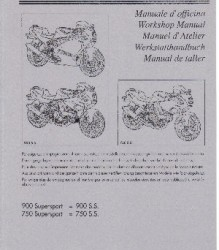 Ducati 750-900SS '91-'97 Workshop Manual