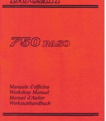 Ducati 750 Paso Workshop Manual