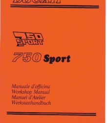 Ducati 750 Sport '88-'89 Workshop Manual