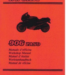 Ducati 906 Paso Workshop Manual