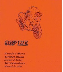 Ducati 907ie Supplement Workshop Manual