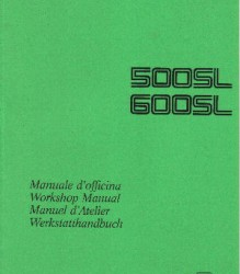 Ducati 500SL/600SL Workshop Manual