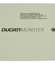 Ducati 750 Monster Spare Parts Manual