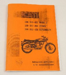 Ducati MK3/DESMO/SCRAMBLER Owners Manual