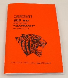 Ducati 900SD Owners Manual