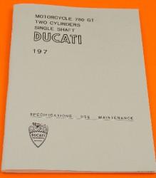 Ducati 750GT Owners Manual