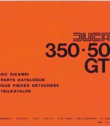 Ducati 350-500 GTV Spare Parts Manual