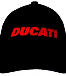 Ducati Cap C5 with Red Block Embroidery – Limited Stock