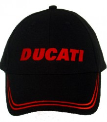 Ducati Cap C1 with Red Block Embroidery (Limited Stock)