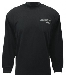 Ducati Long Sleeve Mens Sm TwinLine Desmo L4 Black