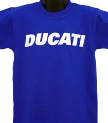 Ducati T-Shirt Kids Block K6 Royal