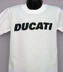 Ducati T-Shirt Kids Block K6 White