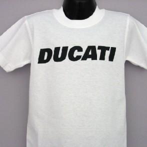 ducatitshirtkidsk6white