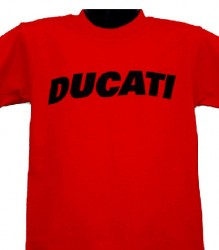 Ducati T-Shirt Kids Block K6 Red