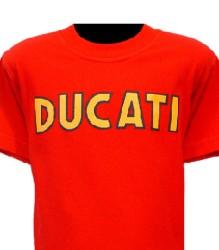 Ducati T-Shirt Kids Single Style K2 Red