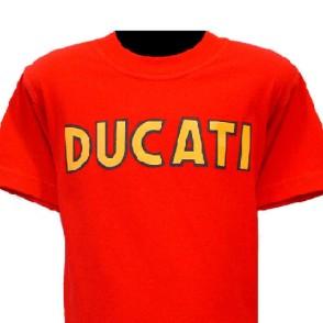 ducatitshirtkidsk2red
