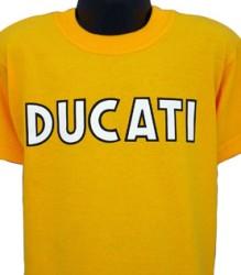 Ducati T-Shirt Kids Single Style K9 Gold