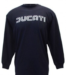 Ducati Long Sleeve Mens Lg TwinLine L1 Black