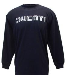 Ducati Long Sleeve Mens Lg TwinLine L1 Black
