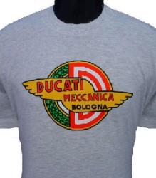 Ducati T-Shirt Mens Meccanica T7 Grey
