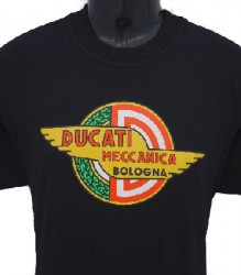 Ducati T-Shirt Mens Meccanica T7 Black
