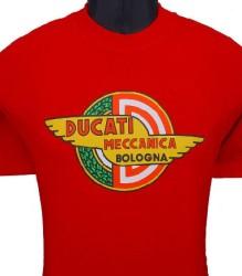 Ducati T-Shirt Mens Meccanica T7 Red