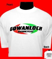 Ducati T-Shirt Mens Gowanloch T8 White