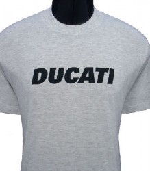 Ducati T-Shirt Mens Block T6 Grey