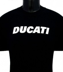 Ducati T-Shirt Mens Block T6 Black