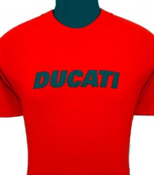 Ducati T-Shirt Mens Block T6 Red