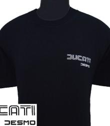 Ducati T-Shirt Mens Sm TwinLine Desmo T4 Black