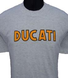 Ducati T-Shirt Mens Singles T2 Grey