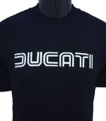 Ducati T-Shirt Mens Lg TwinLine T1 Black