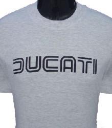 Ducati T-Shirt Mens Lg TwinLine T1 Grey